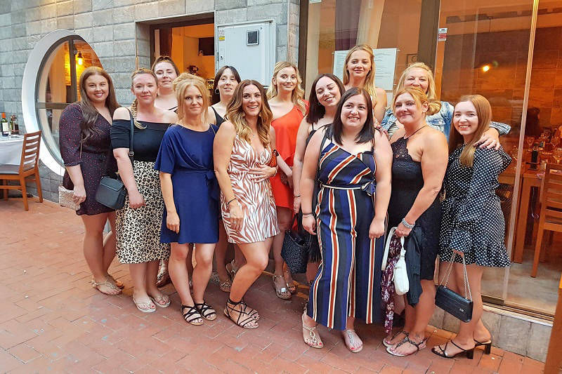 Paneils Restaurant a top choice for a Ladies Night to remember in Benidorm.