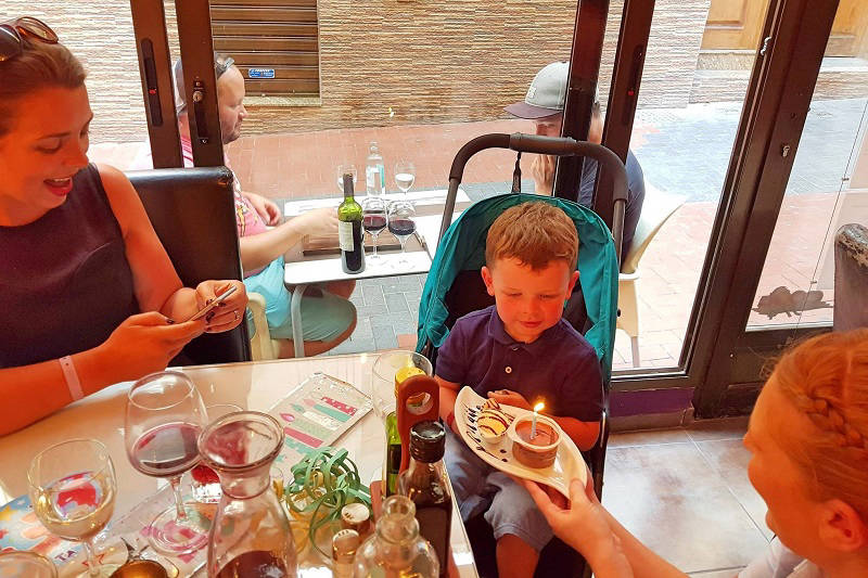 Families are always welcomed at Paneils Restaurant for child friendly dining.