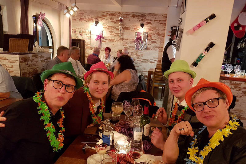 Paneils Benidorm Christmas and New Year party