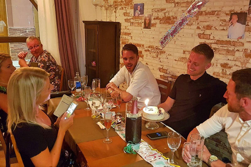 Paneils Restaurant: Where to celebrate your 40th Birthday in style.